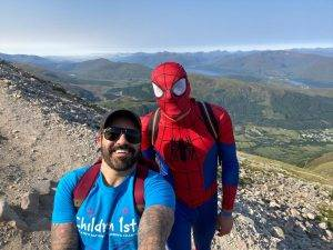Glasgow dad completes the National Three Peaks Challenge, the Yorkshire 3 Peak, and the London Marathon next